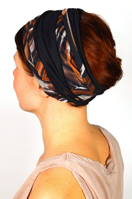 bandeau_a_cheveux_extra-large_bicolore_marron_foudre_3