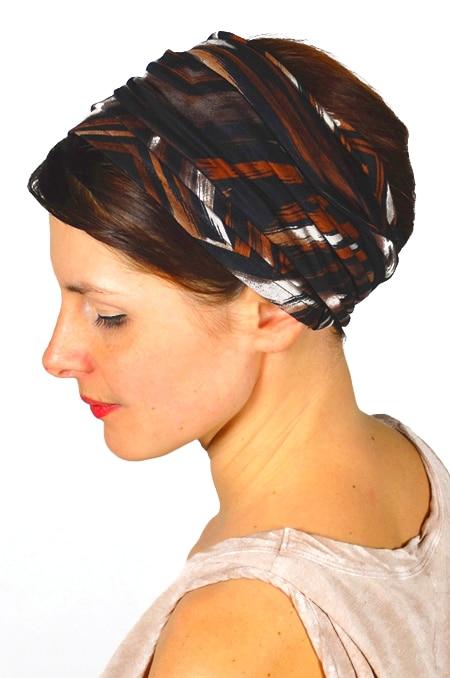 bandeau_a_cheveux_extra-large_bicolore_marron_foudre_2