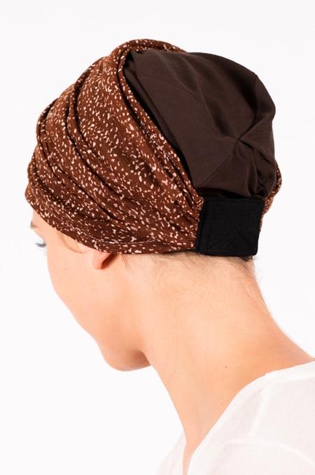 pack_chimiotherapie_bonnet_bandeau_chimio_marron_chocolat
