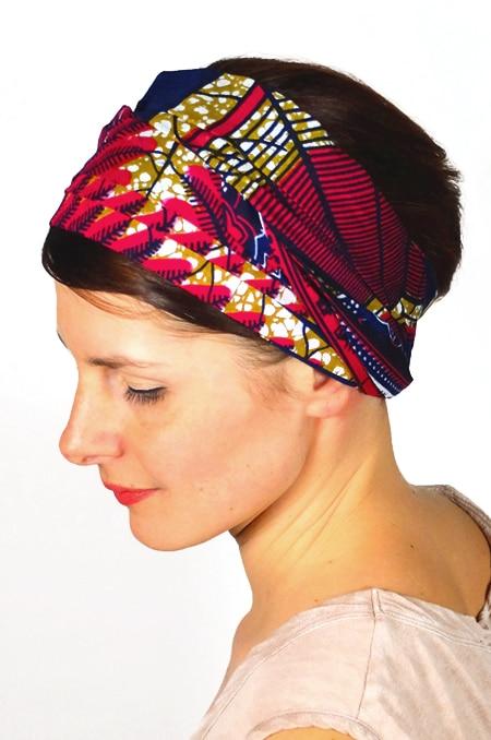 bandeau_a_cheveux_tissu_africain_turban_foudre_wax_marine