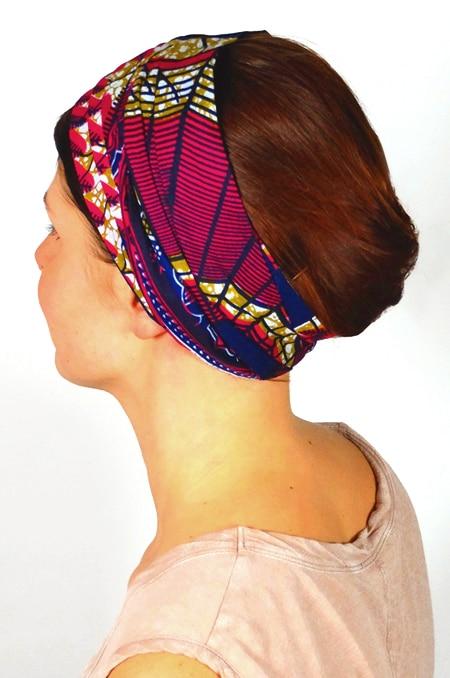 bandeau_a_cheveux_tissu_africain_turban_foudre_wax_marine_3