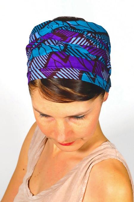 bandeau_a_cheveux_tissu_africain_turban_foudre_wax_violet_3