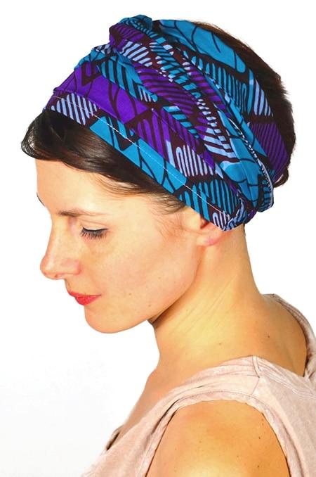 bandeau_a_cheveux_tissu_africain_turban_foudre_wax_violet_2