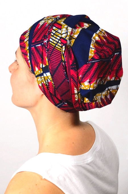 bandeau_chimiotherapie_foudre_tissu_africain_wax_marine_3