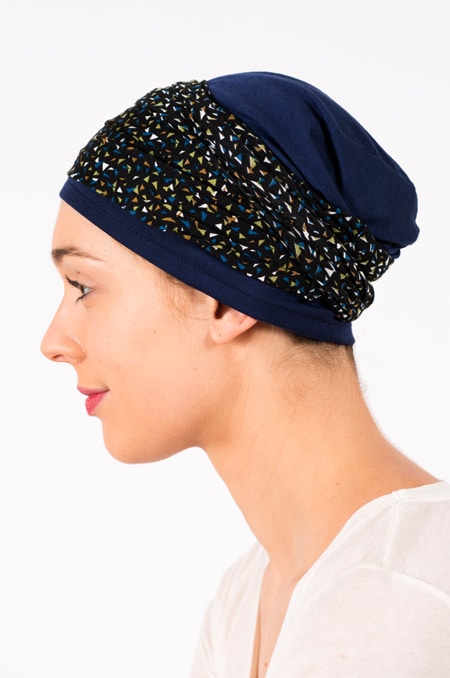 pack_chimiotherapie_bonnet_bandeau_chimio_triangles