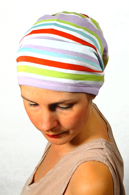 bandeau_scratch_chimiotherapie_foudre_rayures_multicolore_sorbet_3