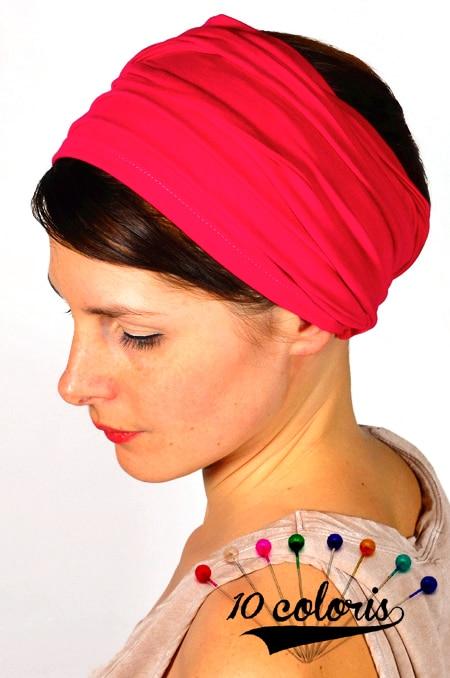 bandeau_a_cheveux_extra_large_turban_foudre_unis_10_coloris