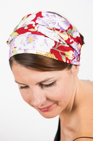 bandeau_cheveux_japonais_foudre_fleurs_bordeaux_2