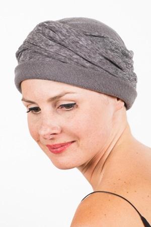 chapeau_chimiotherapie_plisse_gris
