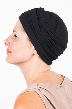 chapeau_chimiotherapie_plisse_noir_2