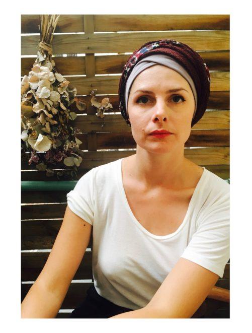 foudre_turbans_chimiotherapie_ensemble_bandeaux_automne_profond
