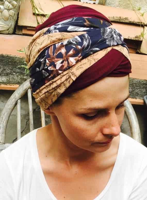 foudre_turbans_chimiotherapie_assorti_ocre_fauve