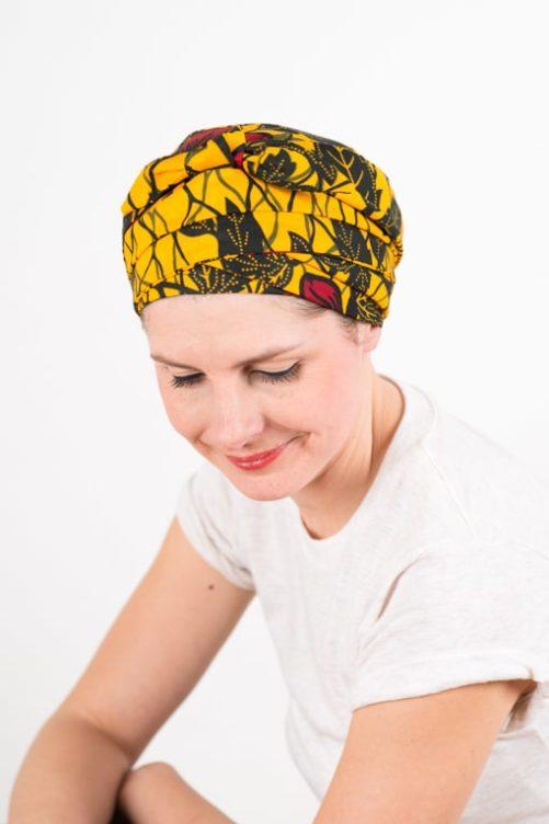 turban_chimiotherapie_coton_foudre_africain_wax_jaune_hib3