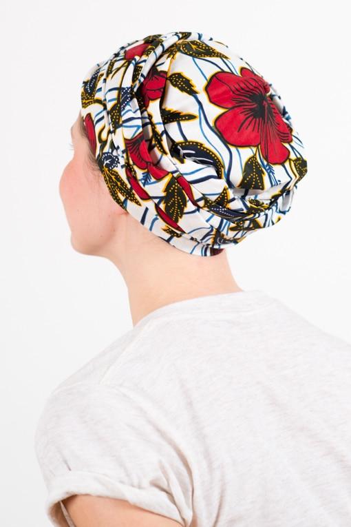 turban_chimiotherapie_coton_foudre_africain_wax_fleurs_hib