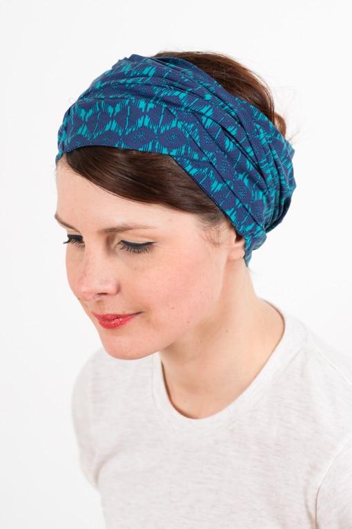 bandeau_a_cheveux_turbans_large_coton_bleu_turquoise_foudre_2