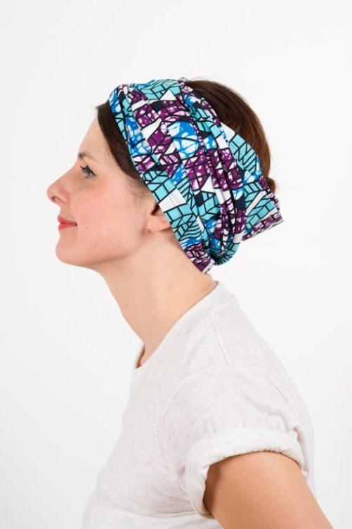 bandeau_a_cheveux_turbans_large_coton_wax_africain_bleu_violet_foudre