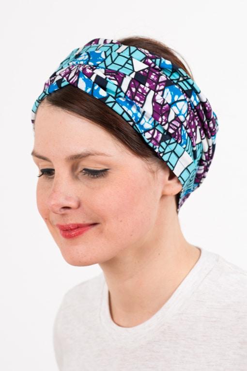 bandeau_a_cheveux_turbans_large_coton_wax_africain_bleu_violet_foudre_2