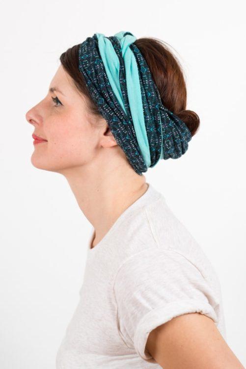 bandeau_a_cheveux_turbans_large_bicolore_topaze_turquoise_foudre