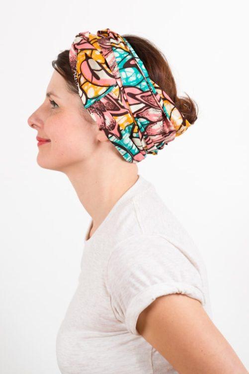 bandeau_a_cheveux_turbans_large_coton_wax_africain_rose_bleu_4