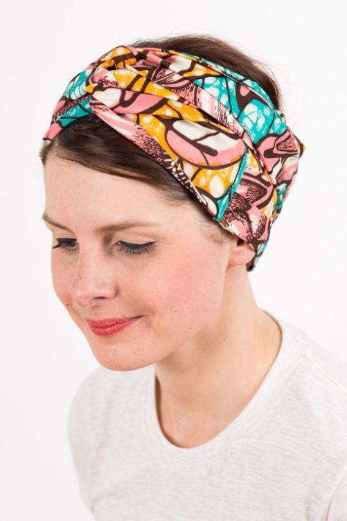 bandeau_a_cheveux_turbans_large_coton_wax_africain_rose_bleu_3