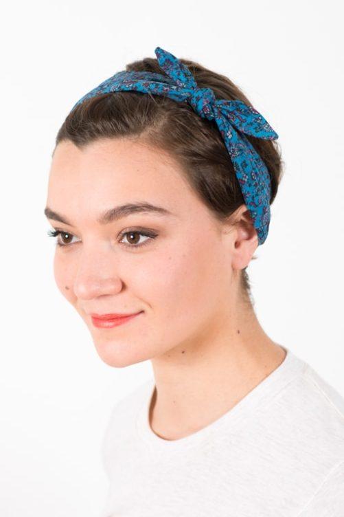 bandeau_a_cheveux_elastique_coton_liberty_bleu_mez2