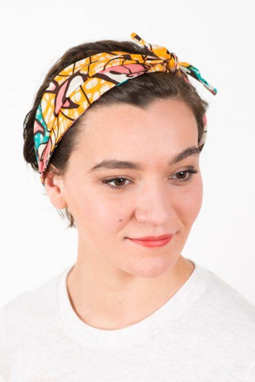 bandeau_a_cheveux_elastique_wax_africain_rose_bleu
