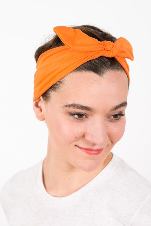 bandeau_a_cheveux_elastique_bunny_orange_2