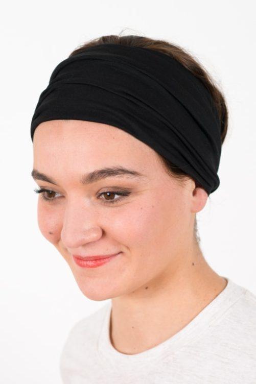 bandeau_a_cheveux_elastique_large_noir