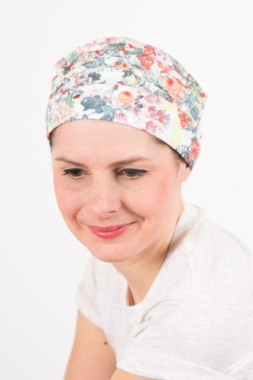 bonnet_chimiotherapie_coton_foudre_fleurs_bouquet2
