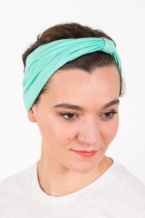 bandeau_a_cheveux_elastique_turquoise