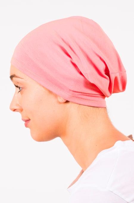 foudre_bonnet_nuit_chimiotherapie_pelade_alopecie_corail_3