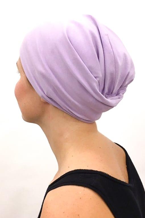 foudre_bonnet_nuit_chimiotherapie_pelade_alopecie_lilas_4
