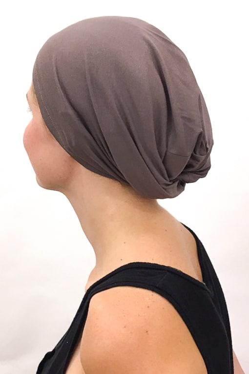 foudre_bonnet_nuit_chimiotherapie_pelade_alopecie_taupe_3