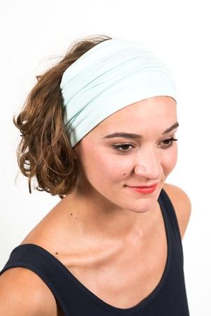 bandeau_a_cheveux_turbans_large_elastique_emeraude_bleu_ciel_2