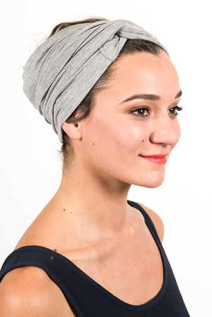 bandeau_a_cheveux_turbans_large_elastique_gris