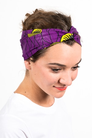 foudre_bandeaux_cheveux_wax_africain_coquillage_violet
