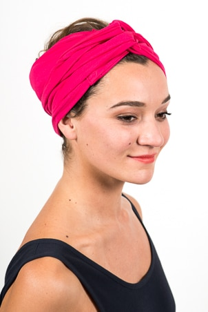 bandeau_a_cheveux_turbans_large_elastique_rose_fushia