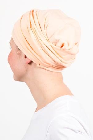 turban_chimiotherapie_elastique_pastel_peche_3