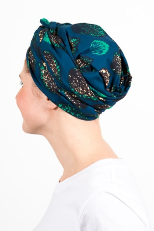 turban_chimiotherapie_wax_africain_plumes_bleu_3
