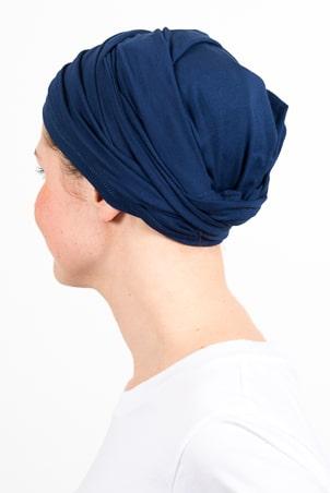 turban_chimiotherapie_elastique_bleu_marine_3