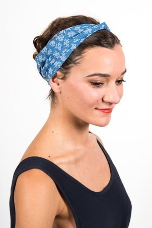 foudre_bandeaux_cheveux_coton_fleur_liberty_bleu
