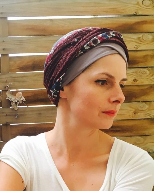 foudre_turbans_chimiotherapie_assorti_automne_profond