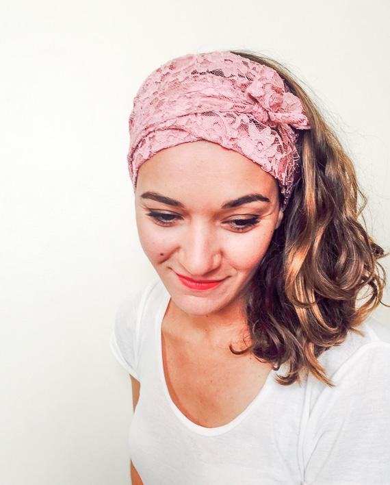 foudre_bandeaux_a_cheveux_pelade_alopecie_dentelle_rose
