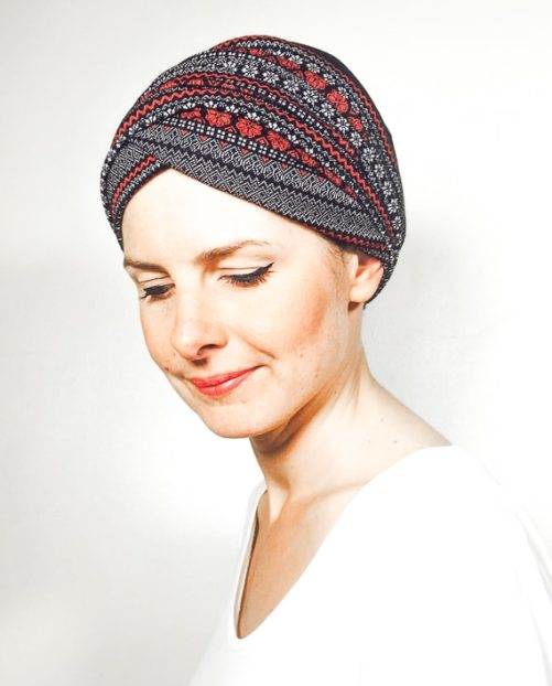foudre_turbans_chimiotherapie_ensemble_volume_bandeaux_scratch_chaud_neige_rouge