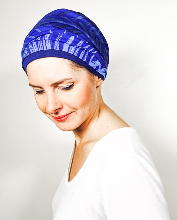 foudre_turbans_chimiotherapie_ensemble_volume_bandeaux_scratch_palme_bleu