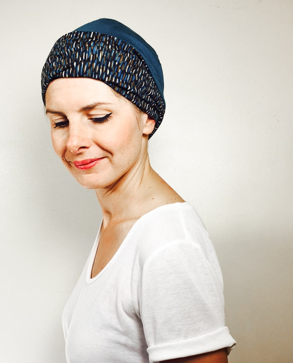 foudre_turbans_chimiotherapie_bonnet_reversible_chaud_bleu_noir