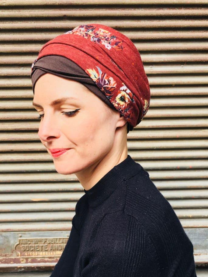 bandeaux-chimiothérapie-foudre-marron-chataigne