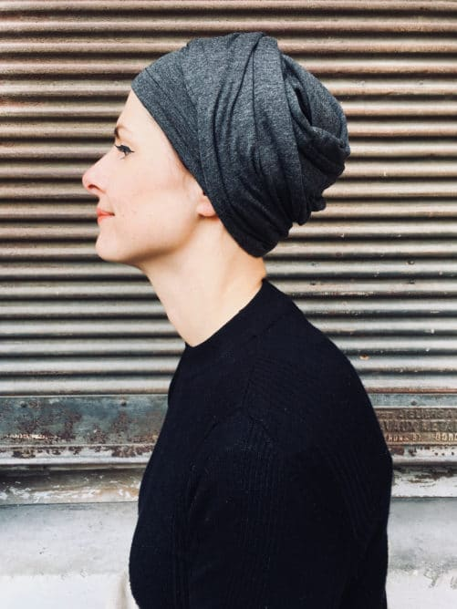 turban-chimiothérapie-foudre-gris-elegant