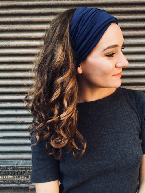 bandeau-a-cheveux-a-scratch-bleu-marine-pour-pelade-alopecie