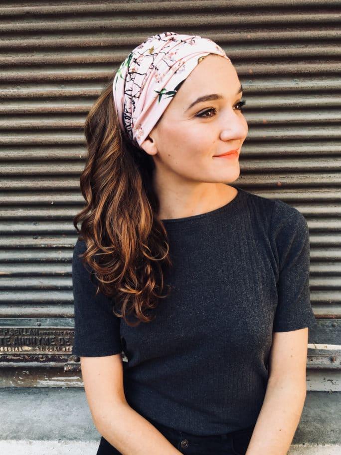 bandeau-a-cheveux-a-scratch-oiseaux-rose-pour-pelade-alopecie
